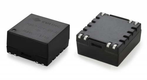 3 W Isolated DC-DC Converter Series Delivers 4:1 Input Range, Compact Package
