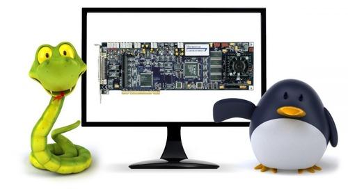 Software Targets Data Acq for Desktop Python under Linux