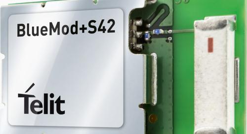BLE Module Boasts Integrated MEMS Sensors