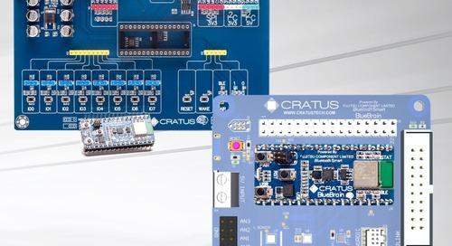 Sensor-Based IoT Development Platform With Bluetooth