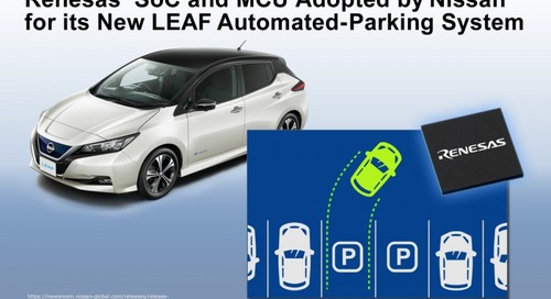 Nissan Chooses Renesas Chips for Automatic-Parking Gear