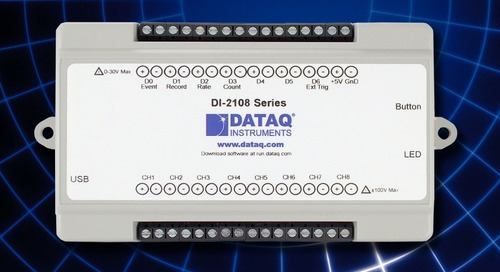 USB Data Acq System Features Simple Expansion