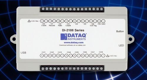 USB Data Acq System Features Simple Expansion