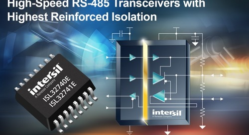 High-Speed RS-485 Transceivers Target IIoT Networks