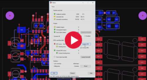Cadence Adds Real-Time DFM PCB Design