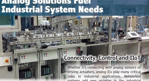 Analog ICs Meet Industrial System Needs
