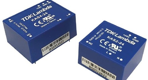 4W Board Mount Power Supplies Feature Wide Input Voltage