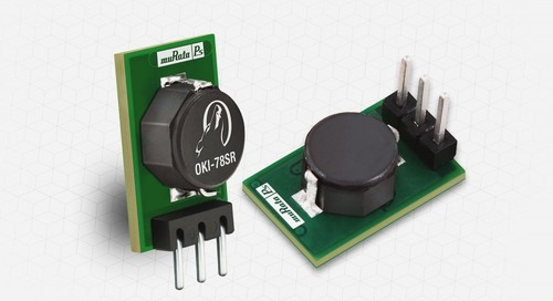 Murata Expands Switching Regulator DC/DC Converter Family