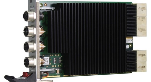 Industrial Ethernet Switch on 3U cPCI