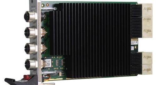 Industrial Ethernet Switch on 3U cPCI