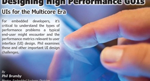 Designing High Performance GUIs