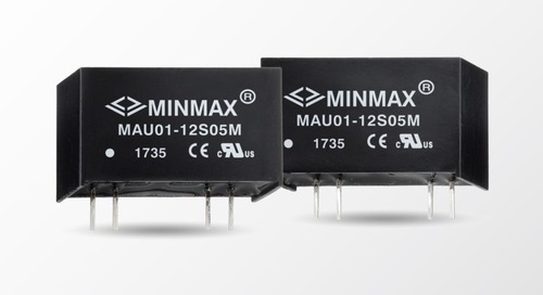 1 W DC-DC Converters Medical Approved