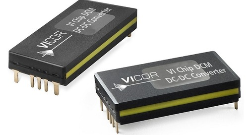 DC-DC Conv. Does ±1% Voltage Regulation