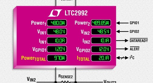 Wide Range Power Monitor Embeds ADCs