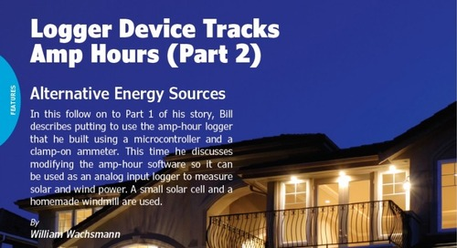 Logger Device Tracks Amp Hours (Part 2)