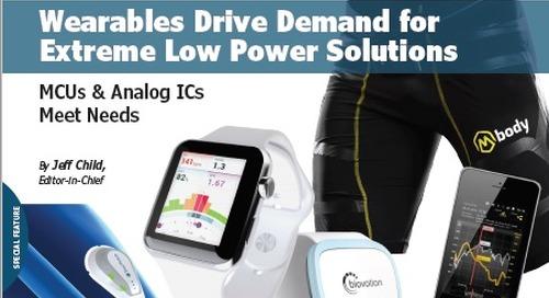 Wearables Drive Low Power Demands