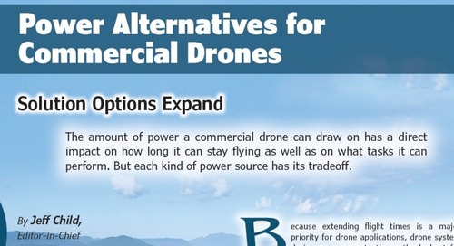Power Alternatives for Commercial Drones