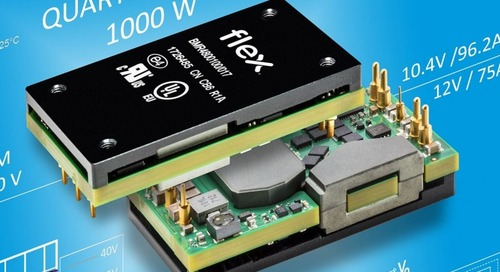 DC/DC Bus Converter Delivers 1,000 W