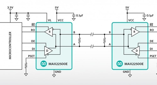 RS-485 Transceivers Offer Faster Data Rates