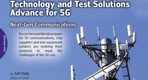 Technology and Test Solutions for 5G