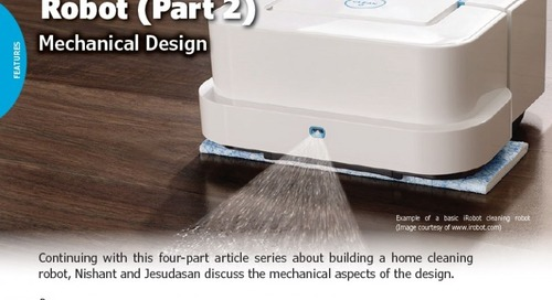 Designing a Home Cleaning Robot (Part 2)