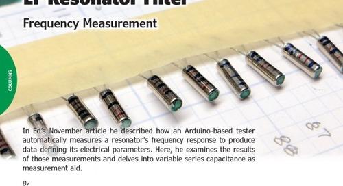 LF Resonator Filter