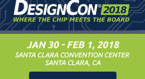 DesignCon Registration is open! Get your free pass today!