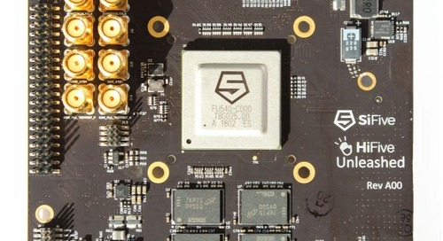 SiFive Launches Linux-Capable RISC-V Based SoC