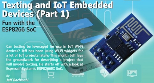 Texting and IoT Embedded Devices (Part 1)