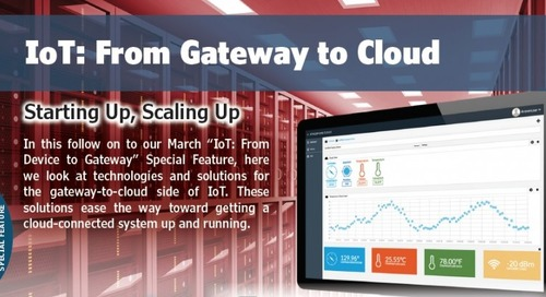 IoT: From Gateway to Cloud
