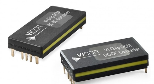 DC-DC Converter Family Targets Modern Railway Systems