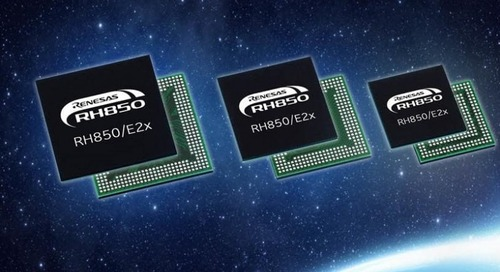 On-Chip Flash MCU Uses 28 nm Process Technology