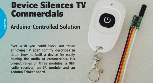Device Silences TV Commercials