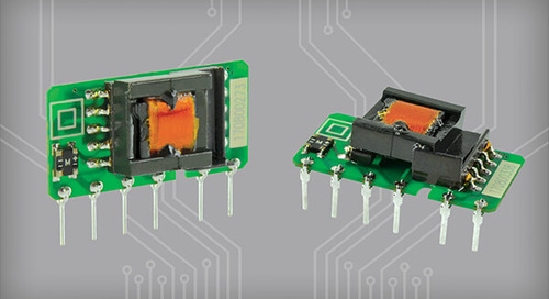 1 W AC-DC Supplies Feature Ultra-Compact Packages