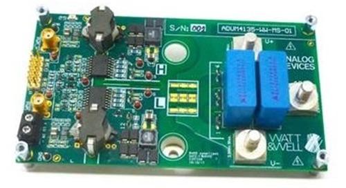Eval Board for Half-Bridge SiC Power Modules