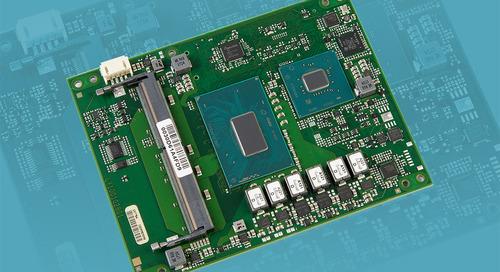 COM Express Board Sports Intel 8th Gen Processors