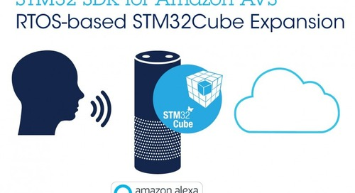 STM32 Software Brings Alexa Tech to Simple Connected Objects