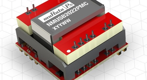 Module Combines Isolated Data Comms and Power in One Device