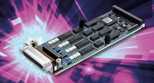 M-Module Serves Up Four Serial Interfaces
