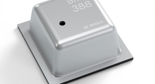 Barometric Pressure Sensor Serves Consumer Drone Needs