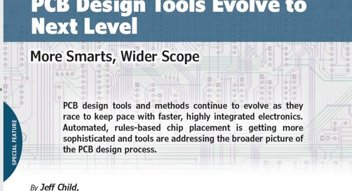 PCB Design Tools Evolve to  Next Level