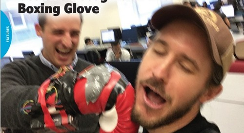 Gesture Recognition in a Boxing Glove