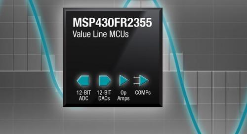 MCUs Offer Configurable Signal Chain Elements