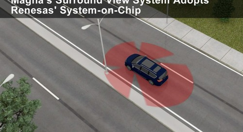 Firms Collaborate on 3D Surround View System for Cars