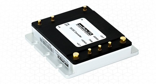 DC-DC Converters Gear Up for Industrial and Rail Applications