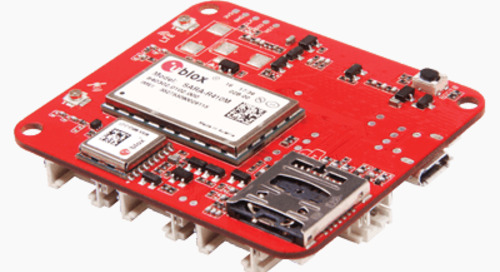 U-Blox Modules Selected for IoT Development Board Pair