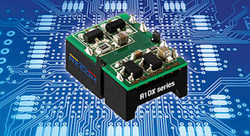 Low Cost 1 W DC-DC Converters Sport Dual Outputs