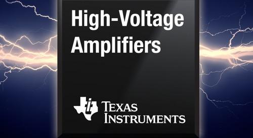High-Voltage Amplifiers Target Error-Sensitive Applications