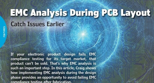 EMC Analysis During PCB Layout