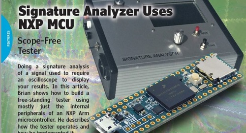 Signature Analyzer Uses NXP MCU